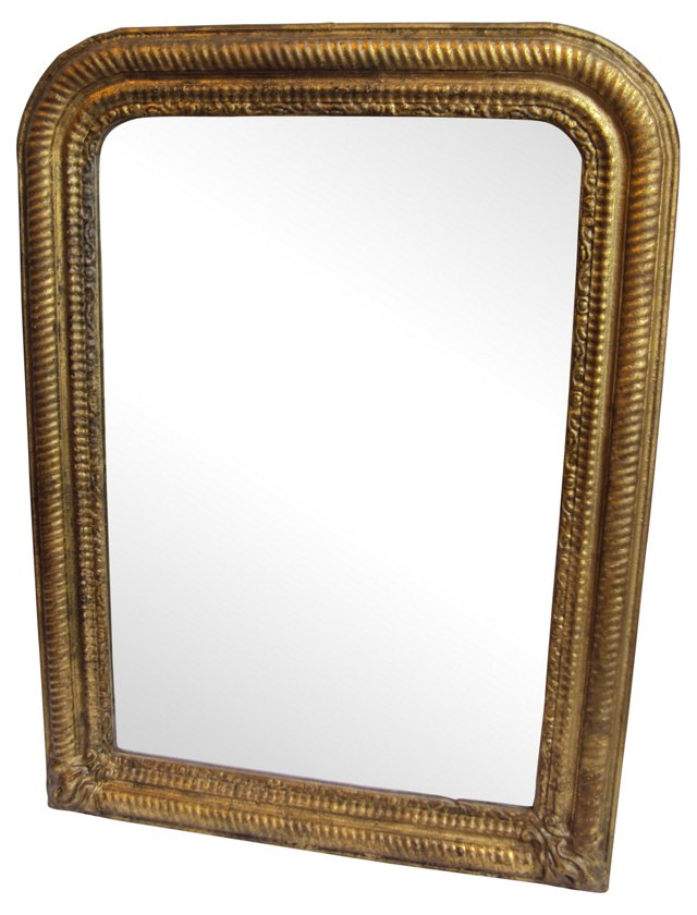 Spanish Louis Philippe-Style Mirror