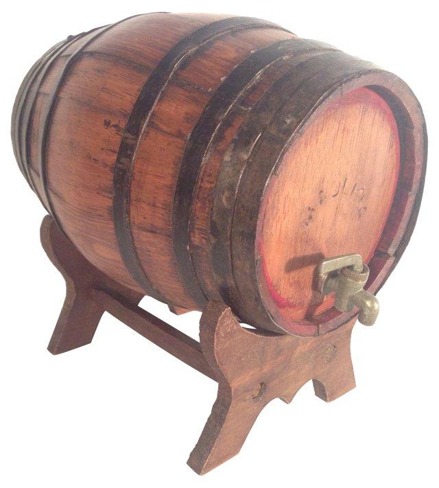 English Spirit Barrel on Stand