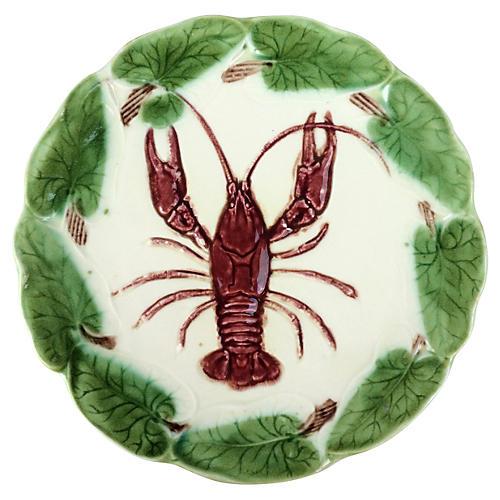 Villeroy & Boch Majolica Lobster Plate
