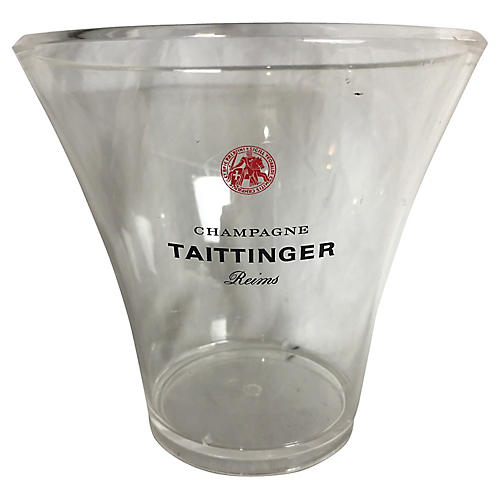 French Acrylic Champagne Bucket