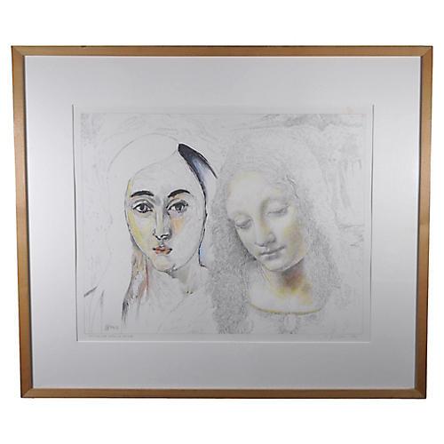 Matisse & Leonardo by J. Levi, 1992