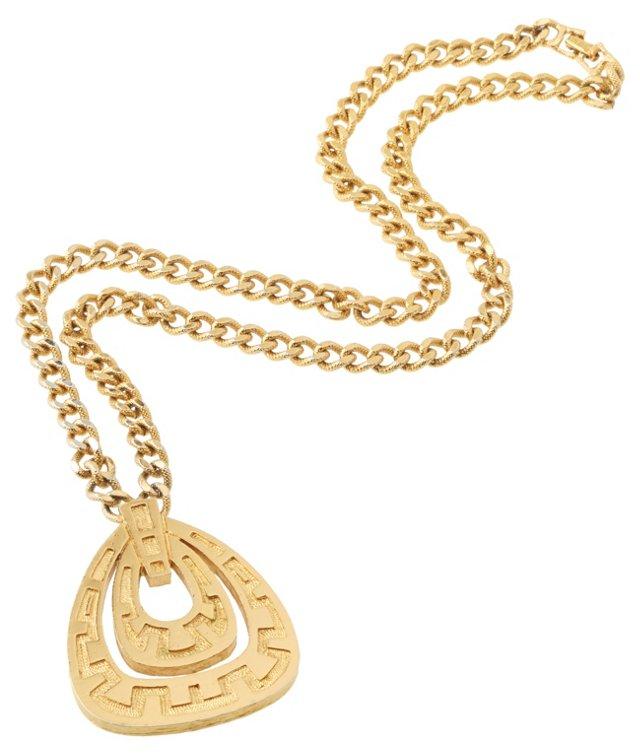 Monet Pendant Necklace