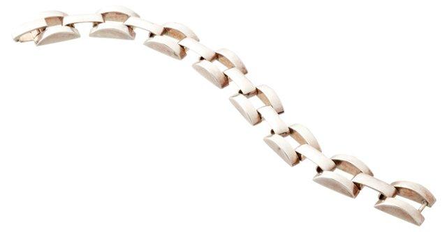 Silverplate Link Bracelet
