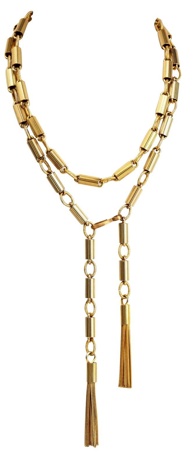 Wrap Tassel Necklace