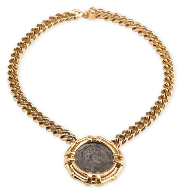 Ciner Coin Necklace