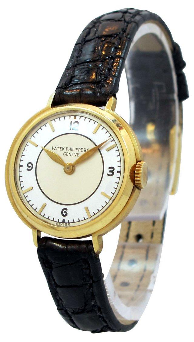 Patek Philippe 18K Gold Watch, 1935