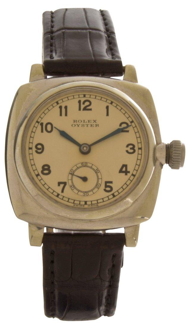 Rolex Oyster Steel Watch, 1936