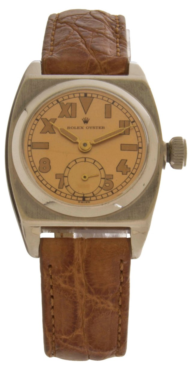 1940s Rolex Viceroy Steel Watch