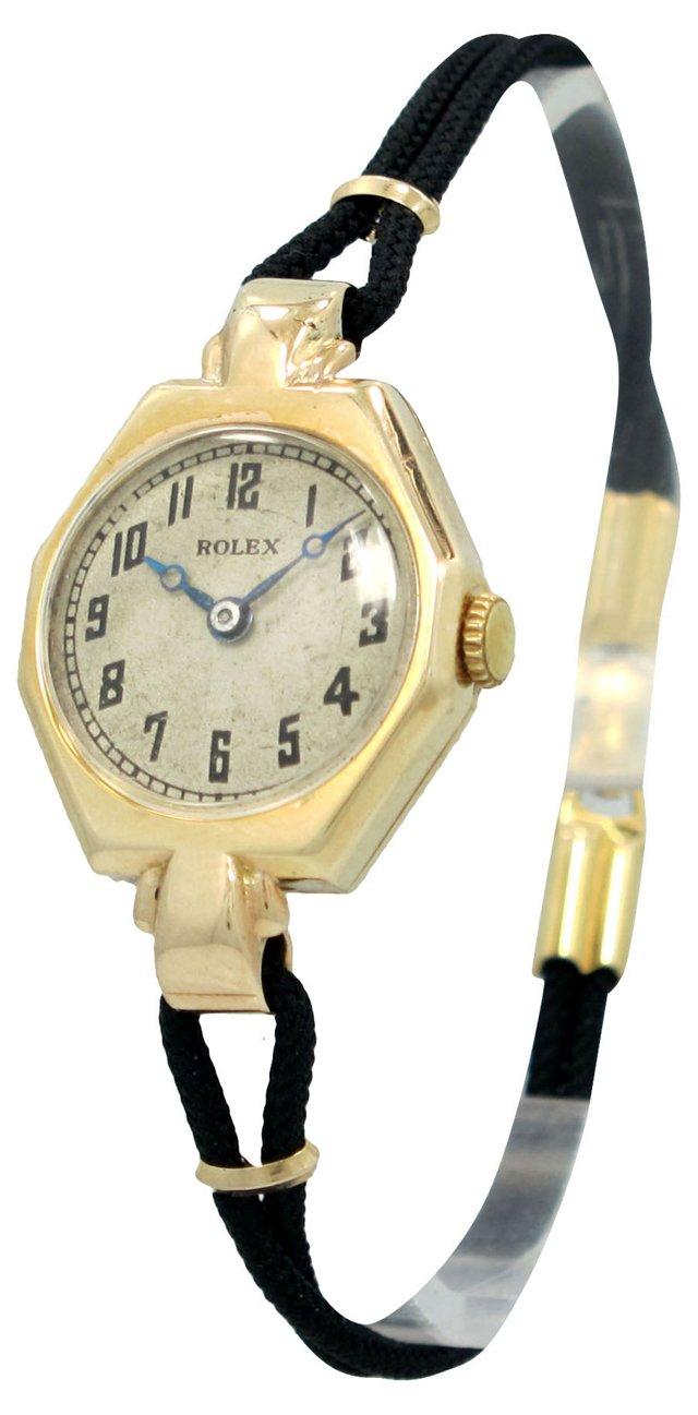 Ladies Rolex 9K Yellow Gold Watch, 1939