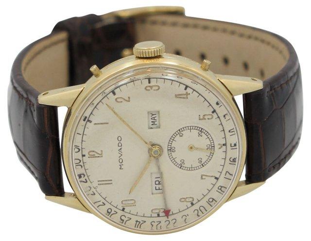 1950s Triple-Date Movado Watch