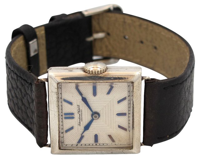 1923 IWC Sterling Silver Watch