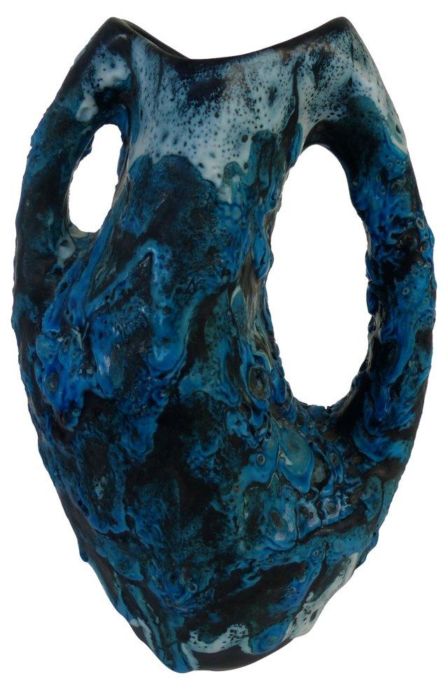 Volcanic Glaze Ceramic Vase