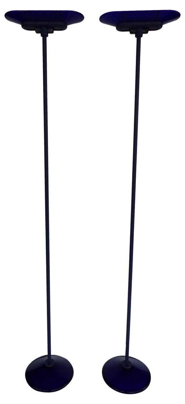 Arteluce Floor Lamps, Pair