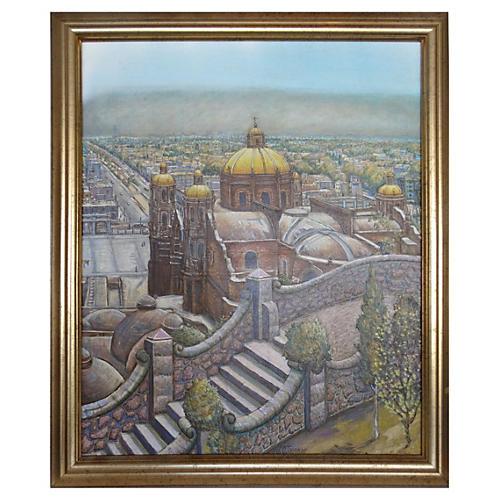 Mexico City by Jesus Ortiz Tajonar
