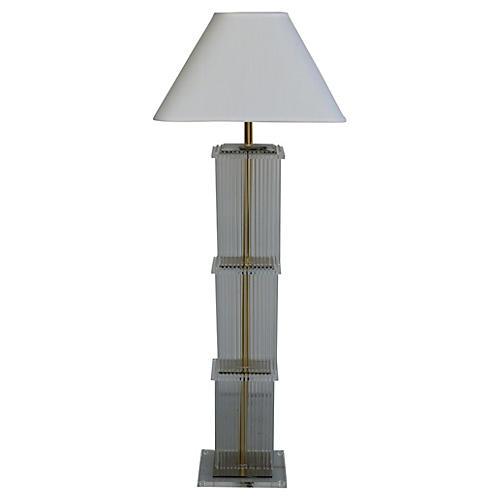 Sciolari-Style Floor Lamp