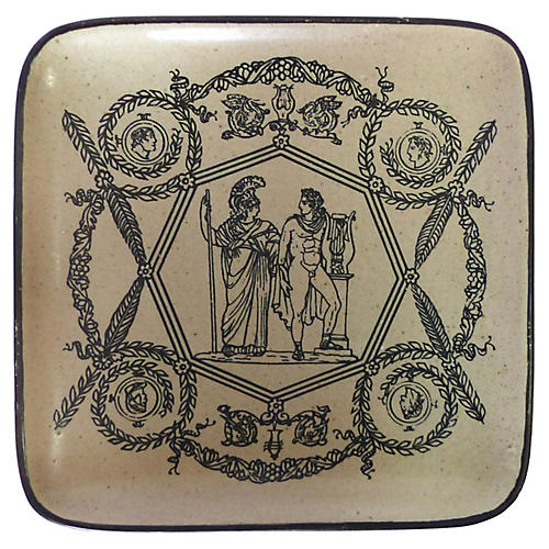 Fornasetti Roman Figures Catchall Dish