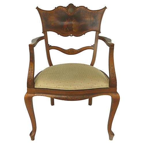 Vernis Martin-Style Armchair