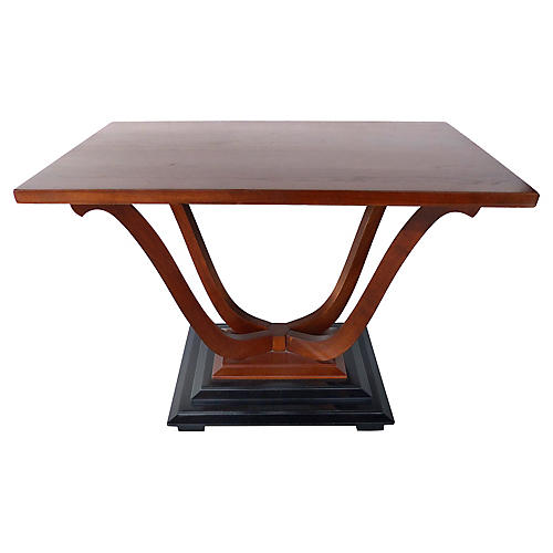 Johnson Furniture Art Deco Coffee Table