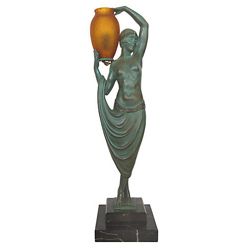 Art Deco Sculpture by Pierre LeFaguay