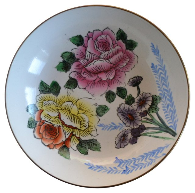 Floral Wall Plate
