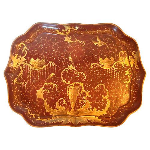 19th-C. Venetian Tray