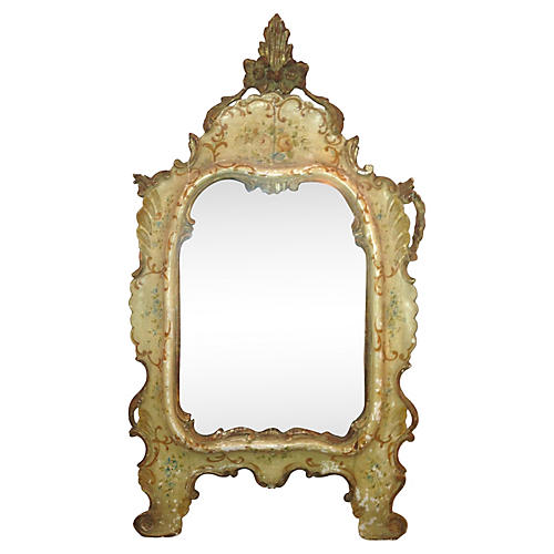 19th-C. Venetian Carved Mirror