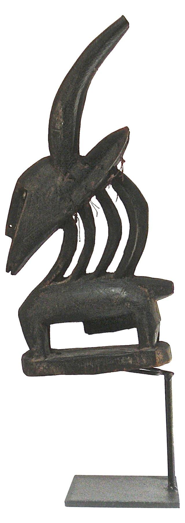 Chiwara Headress Sculpture