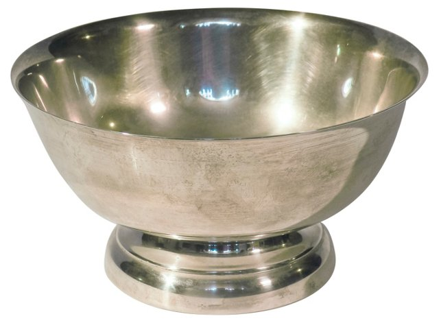 Silverplate Serving Bowl