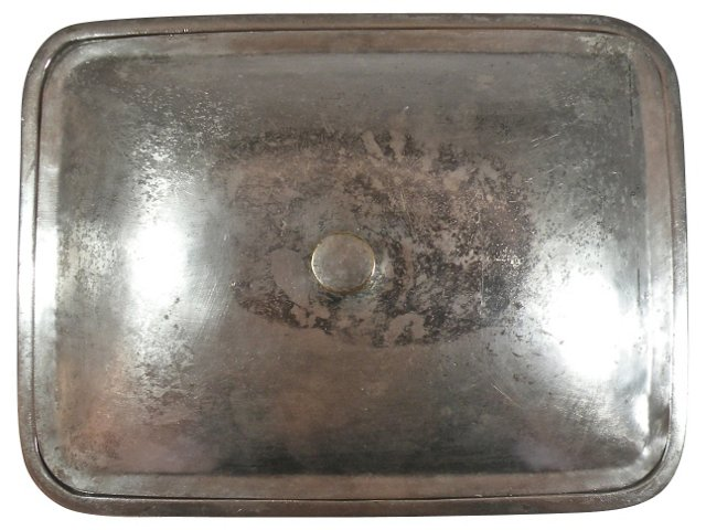 Silverplate Box w/ Lid