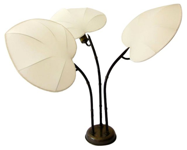 Arturo Pani Palm Leaf Table Lamp