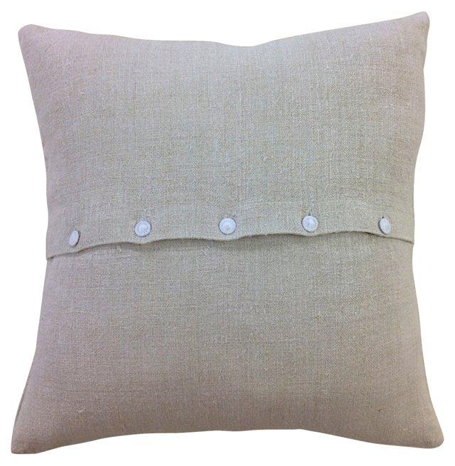 Handloomed Feed Sack Pillow Sham