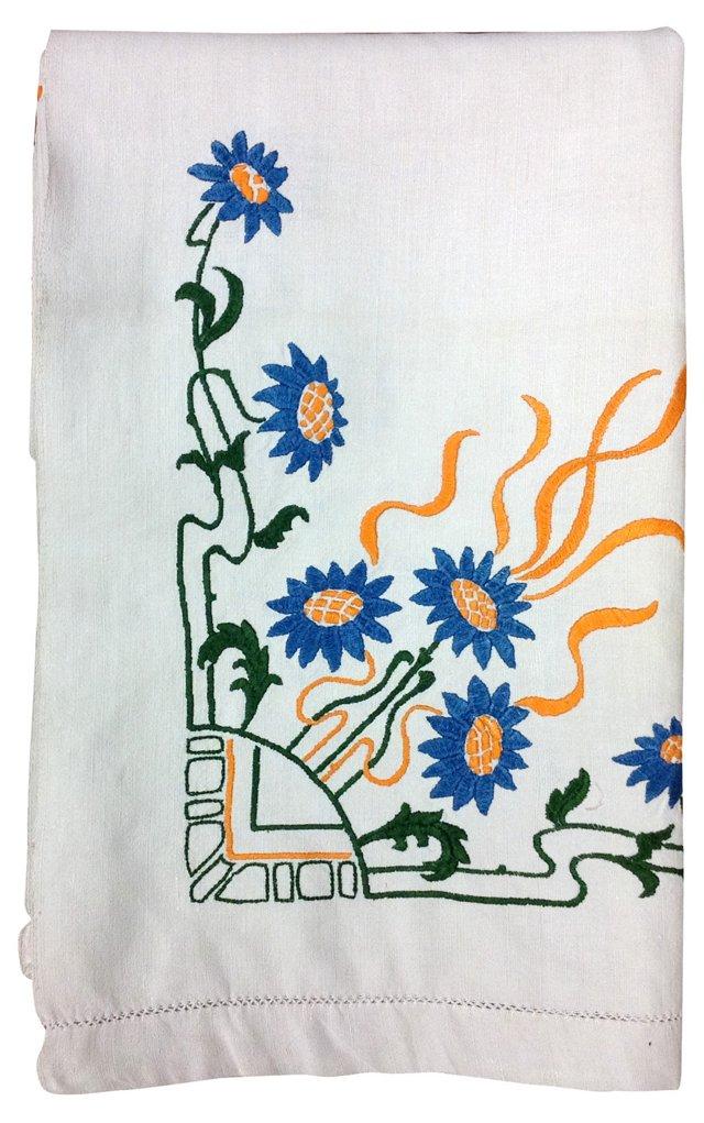 Floral Harvest Tablecloth