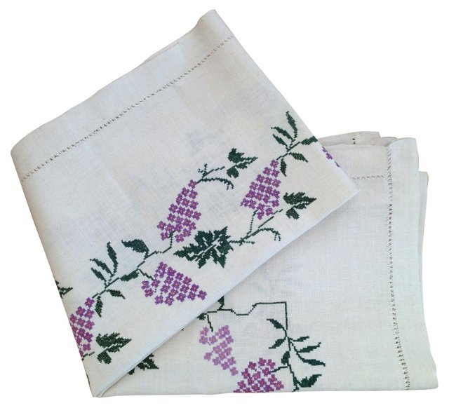 Wine Harvest Bed Cover