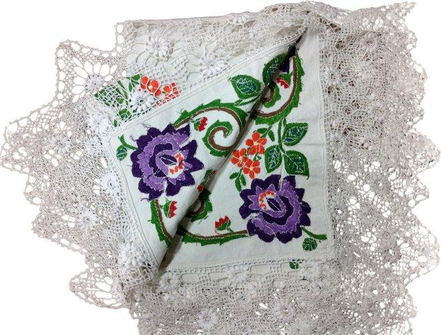 Harvest Linen Tablecloth