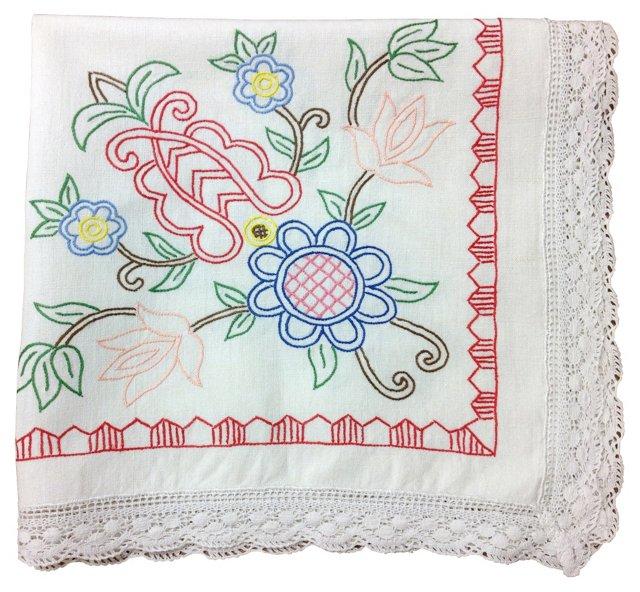 Spring Celebration Tablecloth