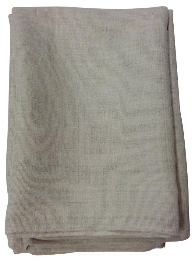 Blanket Cover w/ Antique Linen