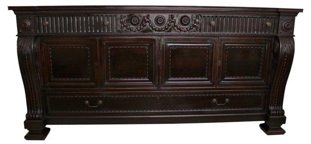 Early-20th-C. English Mahogany Sideboard
