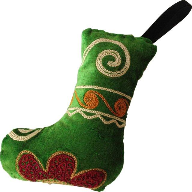 Suzani Ornament, Green