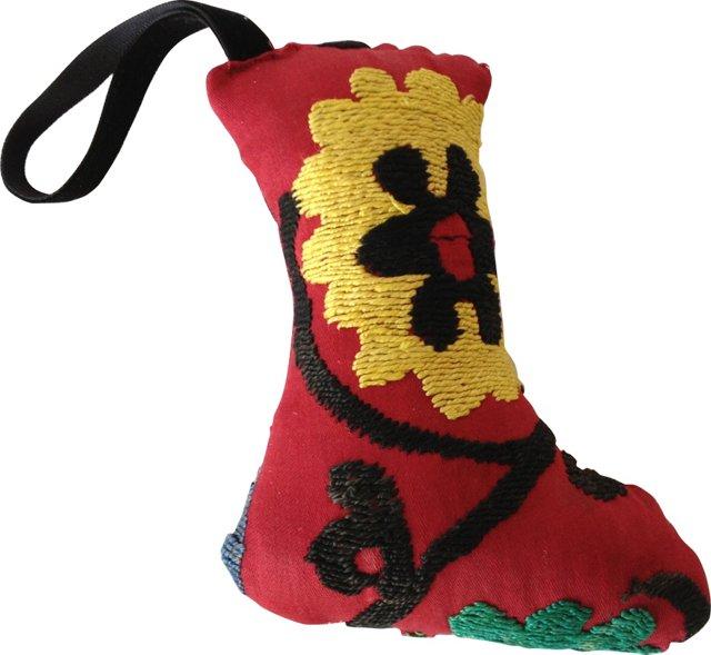 Suzani Ornament, Red