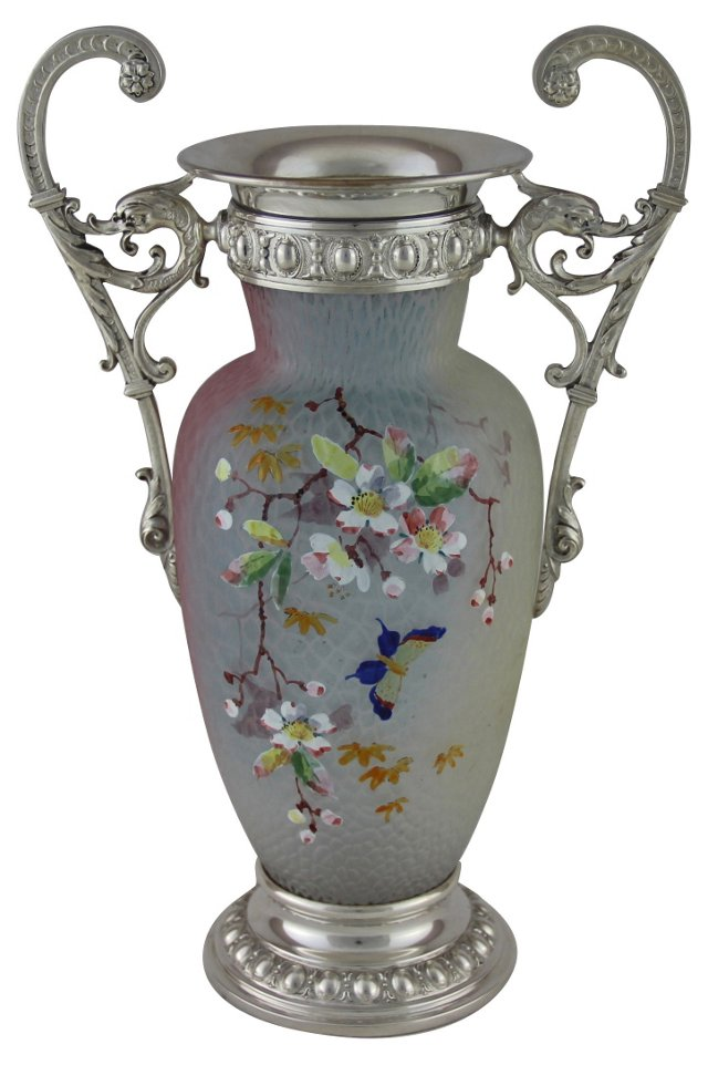 WMF Art Nouveau Vase, C. 1960 NYT