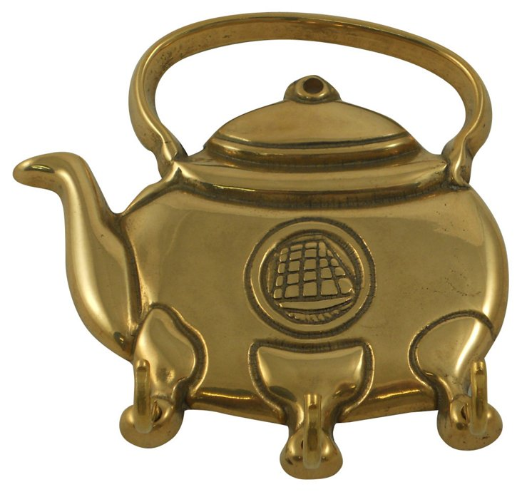 English Teapot    Rack, C. 1980