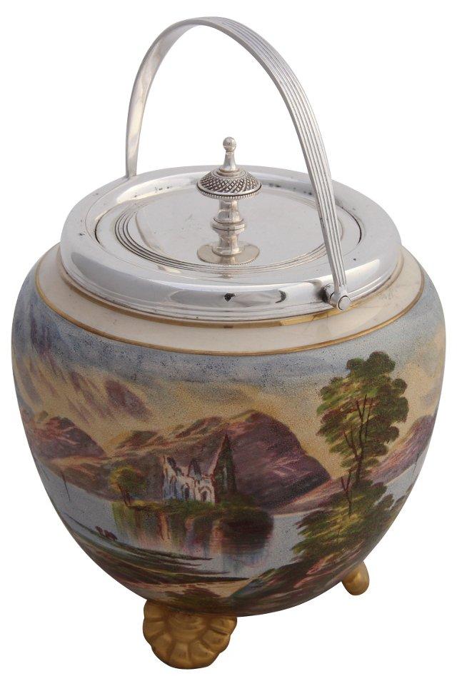 Biscuit Barrel, C. 1885