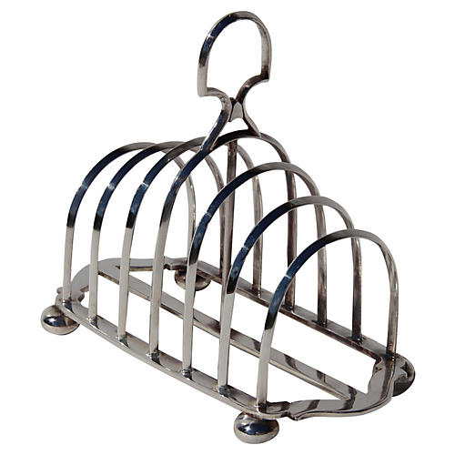 1870s English Toast Rack