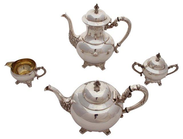American Tea & Coffee, C. 1950, 4 Pcs