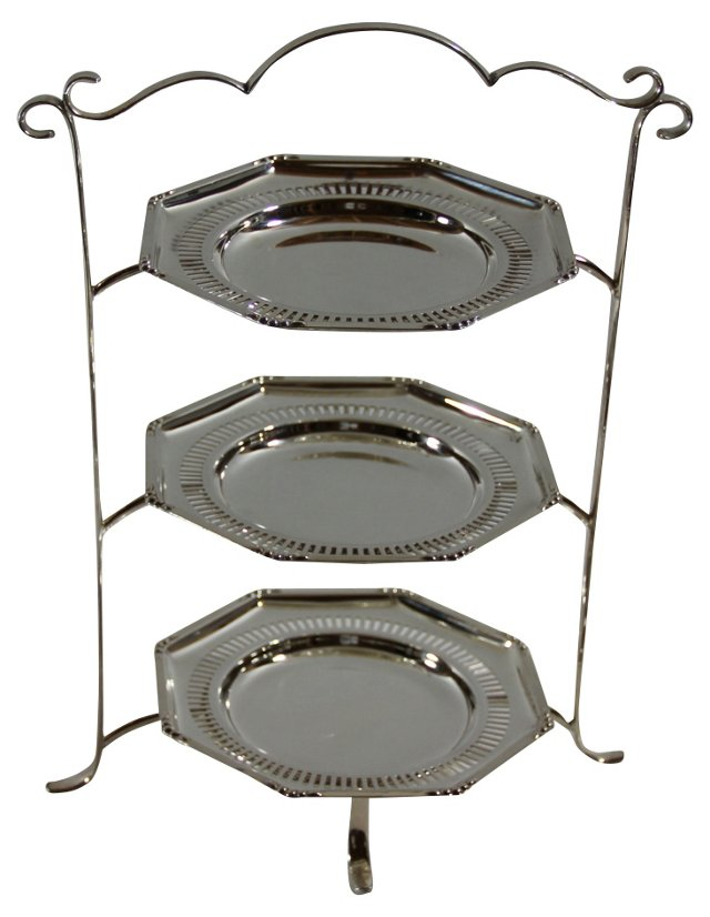3-Tier Cake Stand, C.   1885