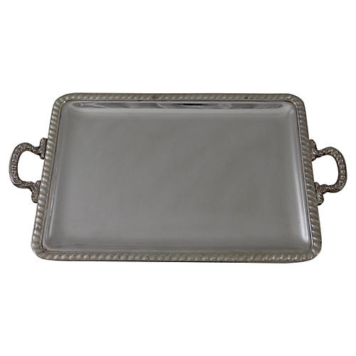 "20"" Gadroon Border Tray, C.1940"