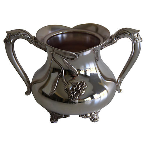 American Elaborate Sugar Bowl