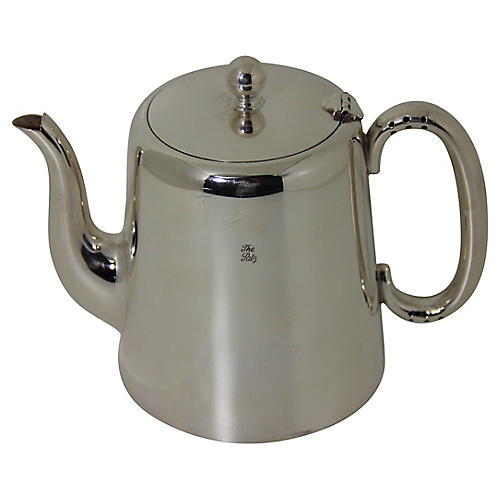 Large Ritz Hotel Silver-plated Teapot
