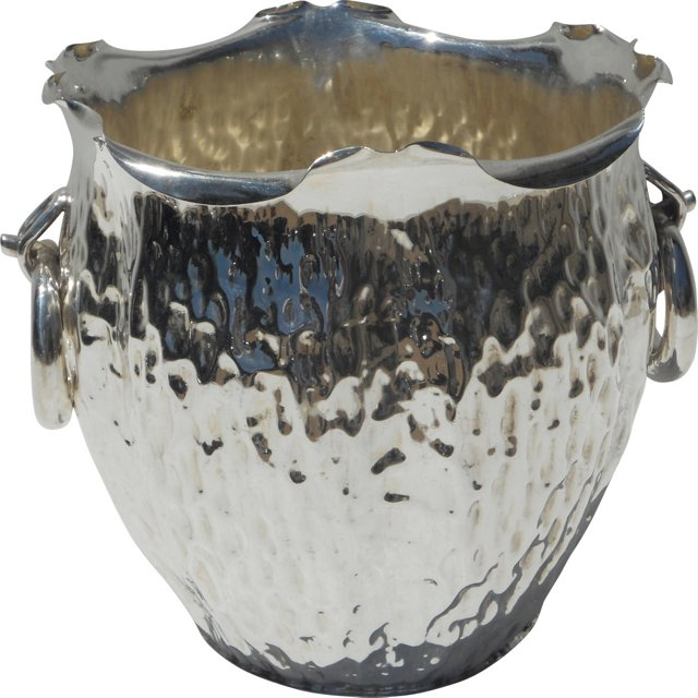Silverplate Ice Bucket, 1876