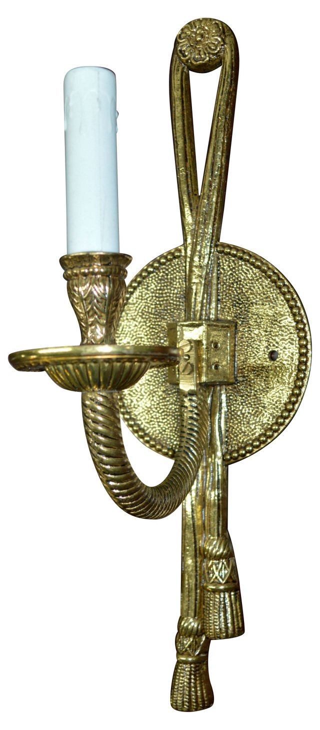 Bronze Rope Sconce